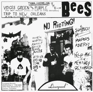 Voices Green and Purple 1966 single by The Bees