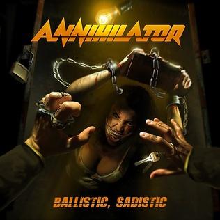<i>Ballistic, Sadistic</i> 2020 studio album by Annihilator