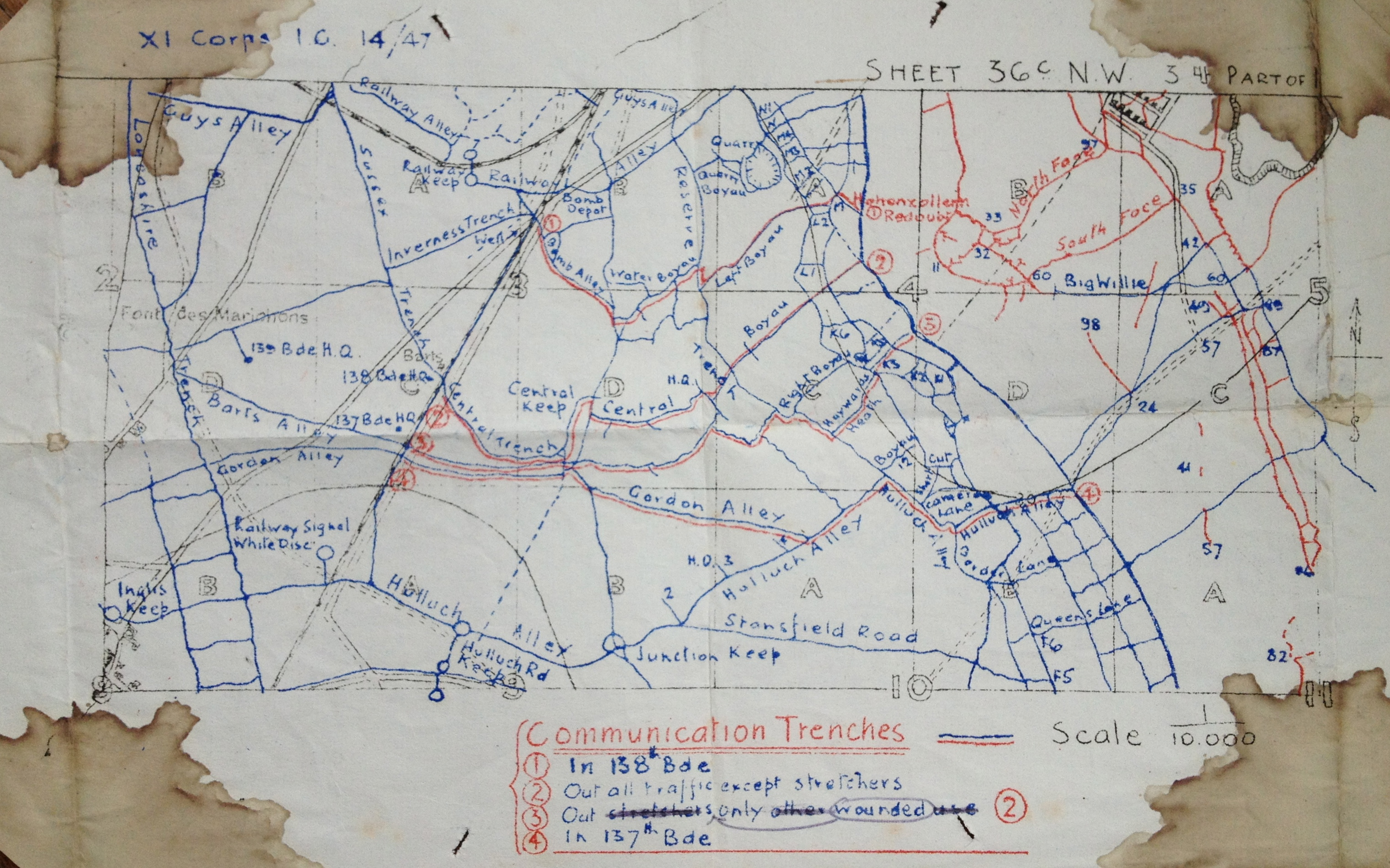 File:Battle of the Hohenzollern Redoubt trench map.jpg ...
