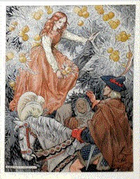 Fairy tale illustration by Barbara C. Freeman