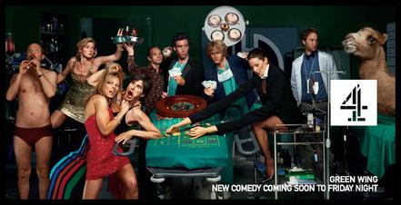 Green Wing Channel 4 TV premiere advert
