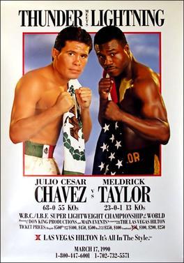 Julio César Chávez vs Meldrick Taylor. Revive la pelea!!