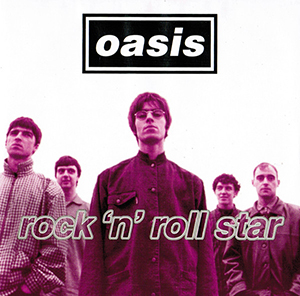 Rock 'n' Roll Star - Wikipedia Oasis Band Album Cover