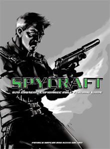 Spycraft Roleplaying Game (1 st edition) cover