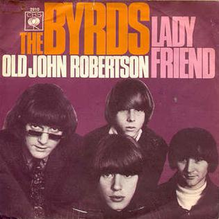 Lady Friend 1967 single by The Byrds