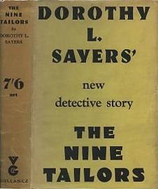<i>The Nine Tailors</i> 1934 mystery novel by Dorothy L Sayers
