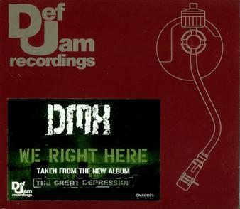 Cover image of song We Right Here by DMX