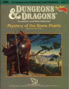 Cover of CM5 Mystery of the Snow Pearls