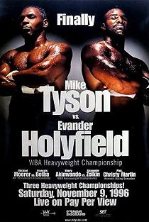 Mike Tyson vs. Evander Holyfield Boxing competition