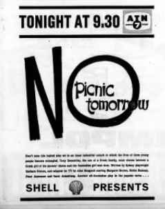 No Picnic Tomorrow 11th episode of the first season of Shell Presents