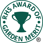 Award of Garden Merit mark of quality awarded to garden plants by the British Royal Horticultural Society