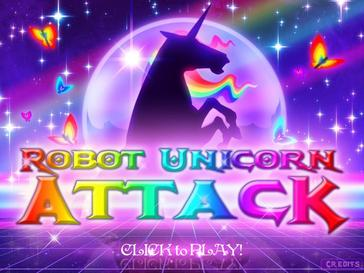 Picture of a game: Robot Unicorn Attack