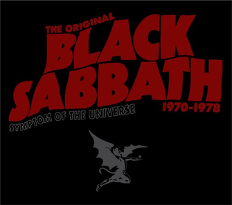 Symptom of the Universe: The Original Black Sabbath 1970–1978 artwork