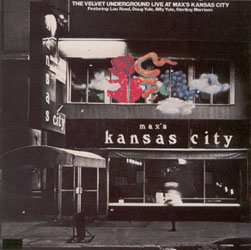 <i>Live at Maxs Kansas City</i> album by The Velvet Underground