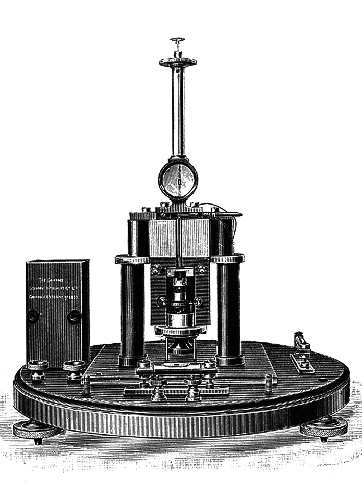 Electrical Measuring Instruments Made By William Gilbert : Thermo galvanometer wikipedia
