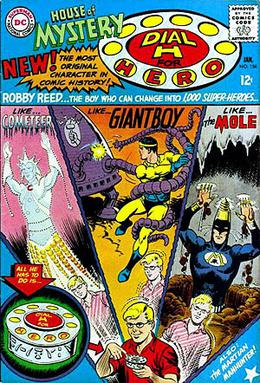 e20aa95e3a4 Cover of House of Mystery  156 (January 1966). Art by Jim Mooney