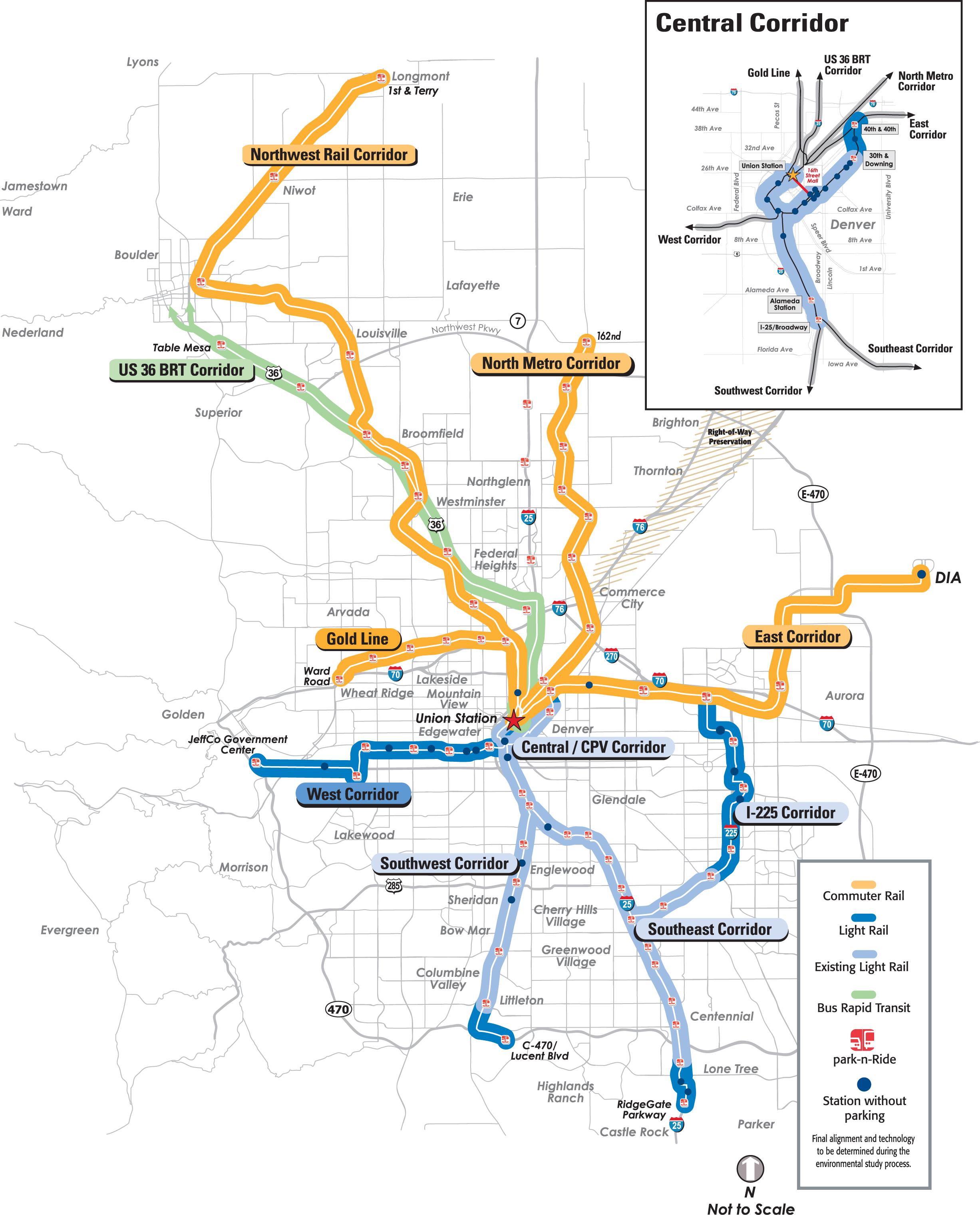 Light Rails: Light Rail In Colorado