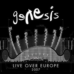 Live over Europe 2007 artwork