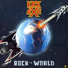 <i>Rock the World</i> (Kick Axe album) 1986 studio album by Kick Axe