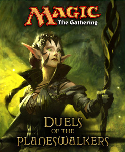 Cover art featuring the character Nissa Revane