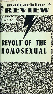 Mattachine_Review_1959 The History of Homosexuality: The Mattachine Society