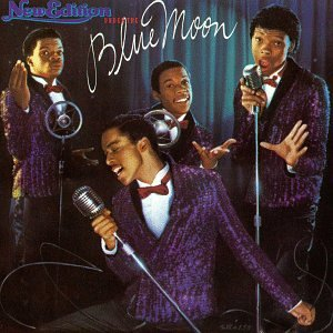 <i>Under the Blue Moon</i> 1986 studio album by New Edition