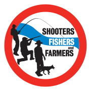 Shooters, Fishers and Farmers Party logo.png