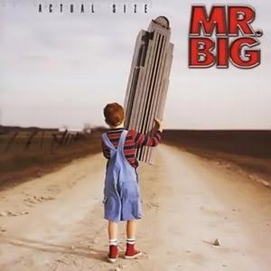 <i>Actual Size</i> 2001 studio album by Mr. Big