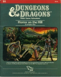 Cover of B5 Horror on the Hill