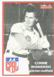 Connie Wisniewski (AAGPBL card).jpg