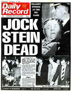 Daily Record, 11 September 1985 Daily Record Jock Stein death.jpg