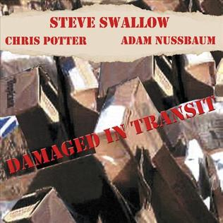 <i>Damaged in Transit</i> 2003 live album by Steve Swallow, Chis Potter and Adam Nussbaum