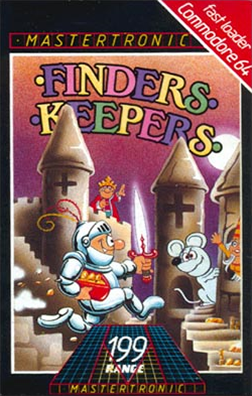 Finders Keepers (1985 video game) - Wikipedia