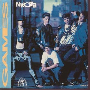Games (New Kids on the Block song) single released by New Kids on the Block