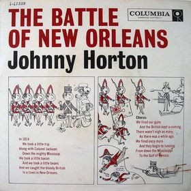 The Battle of New Orleans song written by Jimmy Driftwood