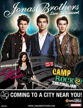 Jonas Brothers Camp Rock Tour