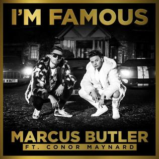 Marcus Butler featuring Conor Maynard - I'm Famous (studio acapella)