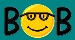 The logo of Microsoft Bob.