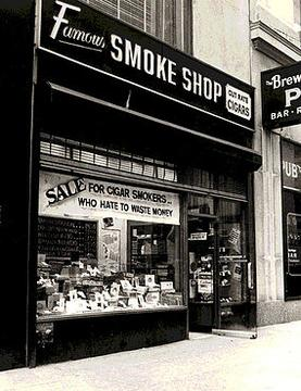 famous smoke shops original retail store located at 1433 broadway new york city founded in 1939