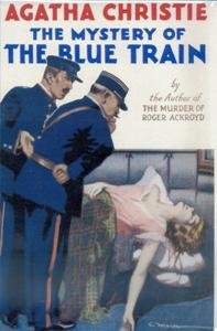 <i>The Mystery of the Blue Train</i> novel by Agatha Christie