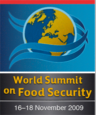 World Summit on Food Security 2009
