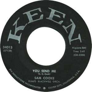 You Send Me original song written and composed by Sam Cooke