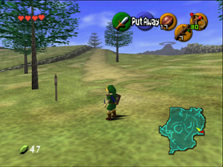 This is the 3D debut of #Zelda on #Nintendo64! #Zelda64