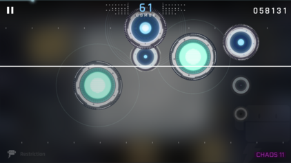 Picture of a game: Cytus