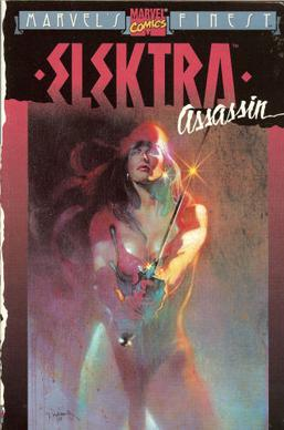 Picture of a book: Elektra Assassin