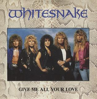 Give Me All Your Love 1988 single by Whitesnake