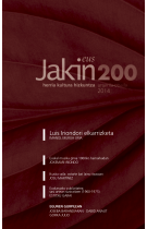 <i>Jakin</i> (magazine) Jakin is a Basque cultural group, magazine, and publishing house.