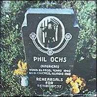 Rehearsals for Retirement (Phil Ochs album - cover art)