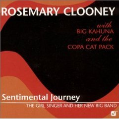 <i>Sentimental Journey: The Girl Singer and Her New Big Band</i> album by Rosemary Clooney