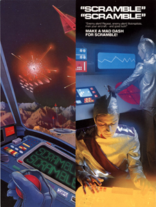 <i>Scramble</i> (video game) Sidescrolling arcade shooter from 1981